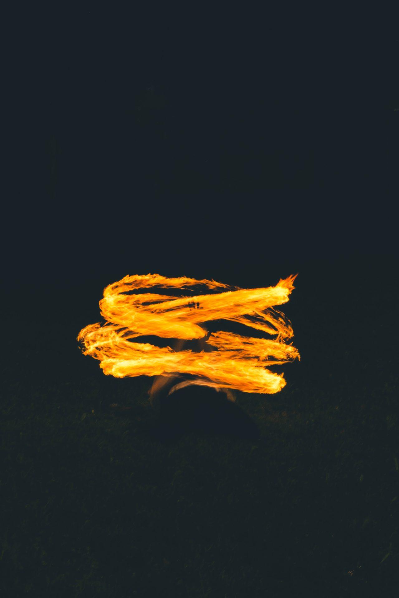 resourceを表す象徴の炎